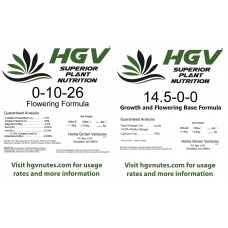 1.2lbs of Flowering Formula + 0.8lbs of Base formula for a net weight of 2lbs